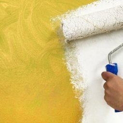 Peindre sur le papier peint | Décoration | Scoop.it