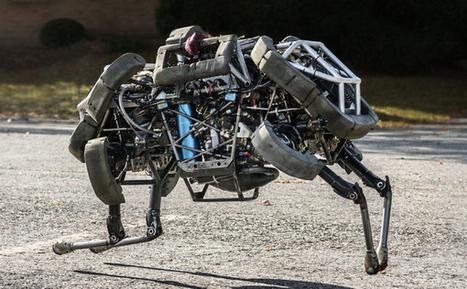 Robots : Google rachète Boston Dynamics ! | veille technologique sur la robotique | Scoop.it