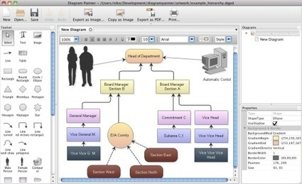 DiagramPainter - create Flow Charts, Mind Maps and more | Create, Innovate & Evaluate in Higher Education | Scoop.it