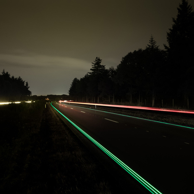 Daan Roosegaarde's glowing Van Gogh cycle path to open | Sisu Bento Box | Scoop.it