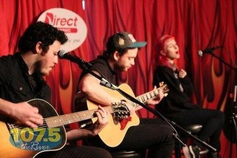 Twitter / ParamoreFB: Paramore in the studio of 107.5 ... | Paramoreband | Scoop.it