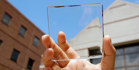 Les panneaux solaires du futur seront transparents | Intelligence | Scoop.it