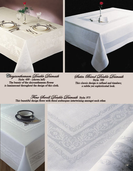 Linen Napkins in varieties of graphics and colors   Table Cloth Factory   Scoop.it