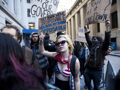 Occupy Wall Street – America's own Arab Spring? — RT | #OccupyWallstreet | Scoop.it
