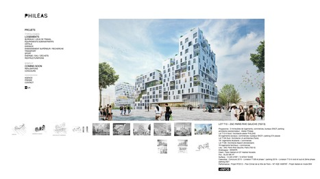 LOT T10 – ZAC PARIS RIVE GAUCHE (75013) - Philéas-Atelier d'architecture | The Architecture of the City | Scoop.it