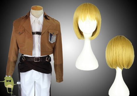 Shingeki no Kyojin Armin Arlert Cosplay Costume + Wig | Attack on Titan Cosplay Costumes | Scoop.it