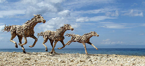 Impressive Driftwood Horse Sculptures by James Doran-Webb | Creativity | Scoop.it