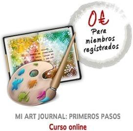 """Curso online: """"Mi Art Journal, primeros pasos""""   Tutoriales, herramientas y técnicas   Scoop.it"""