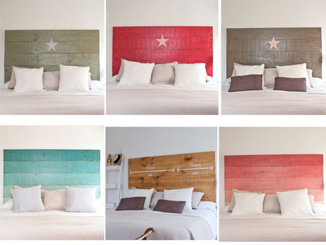 Cabeceros de cama artesanales vintage mil id - Cabeceros cama caseros ...