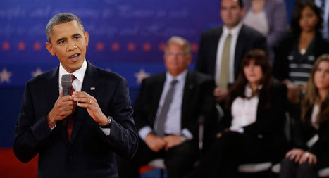 Presidential debate: Obama snaps back hard | DispatchesUSA | Scoop.it