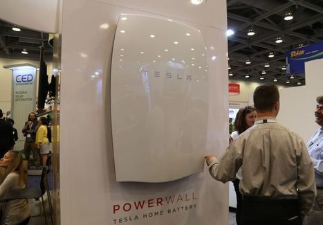 Tesla batteries to power office buildings in California | Peer2Politics | Scoop.it