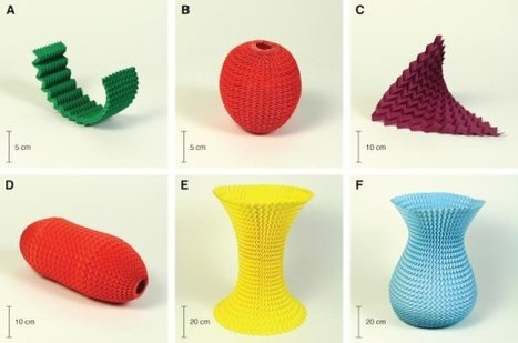 Simple origami fold may hold the key to designing pop-up furniture, medical devices and scientific tools | An odd mix of stuff | Scoop.it