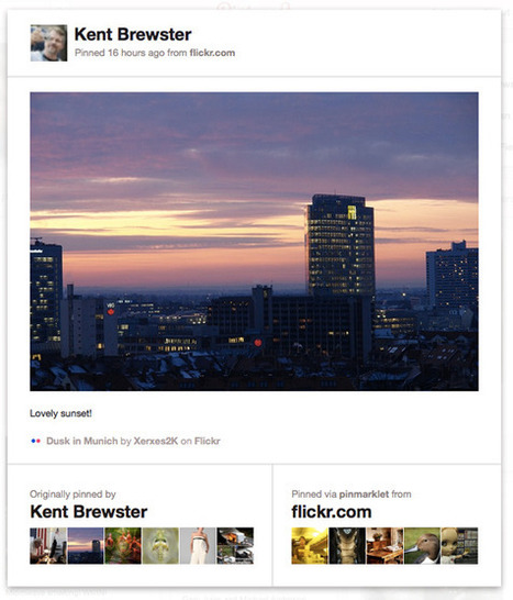 Flickr integra totalmente la red social Pinterest - Omicrono | Recursos | Scoop.it