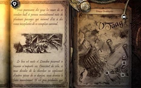 Top 5 des livres de jeu interactifs pour tablettes et smartphones | Tablette-Tactile.net | -thécaires are not dead | Scoop.it