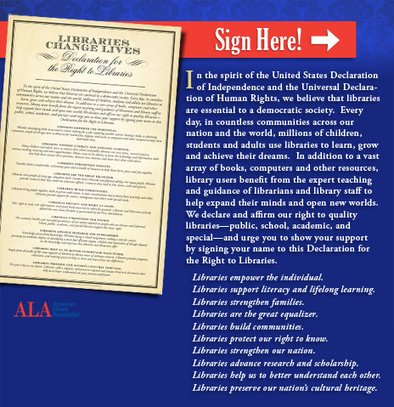 Sign the Declaration for the Right to Libraries | I Love Libraries | Tennessee Libraries | Scoop.it