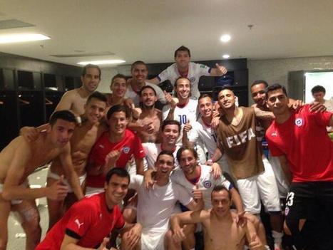 Chile celebra en vestuario victoria a España y clasificación a octavos - Mundial Brasil 2014 | RPP NOTICIAS | MUNDIAL 2014 | Scoop.it