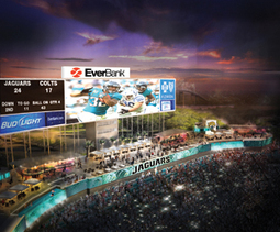 Video screens to give Jags 'huge palette' for stadium content - SportsBusiness Daily | SportsBusiness Journal | SportsBusiness Daily Global | Sports Management | Scoop.it