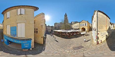 Attirante place des Créneaux de Saint-Emilion - France par Pascal Moulin - Panorama 360 x 180° au mât télescopique | moulin360panoramic | Scoop.it