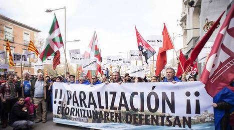 Más de 400 personas rechazan en Madrid el recrecimiento de Yesa   Ordenación del Territorio   Scoop.it