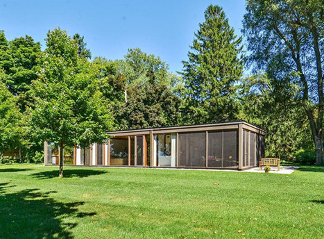 Mid century glass house by David Haid | Plastolux | Idées d'Architecture | Scoop.it