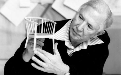 Hans J. Wegner, pilier du design scandinave   Mobilier d'exception   Scoop.it
