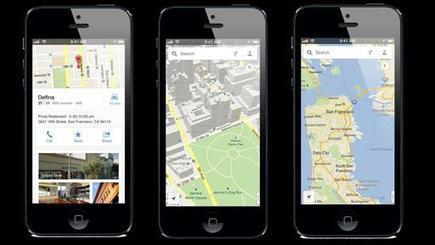 Google Maps for iPhone Returns Better Than Ever | The Perfect Storm Team | Scoop.it