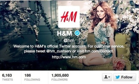 How H&M uses Facebook, Twitter, Pinterest and Google+ | Communication design | Scoop.it