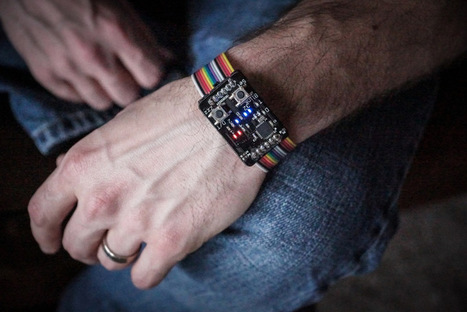 Open Source Binary Wristwatch Is Professional Quality | Linux and Open Source | Scoop.it