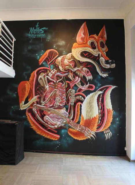 Decoración en paredes con graffitis | Arte | Scoop.it