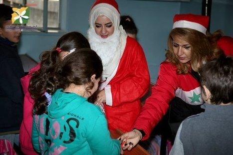 Damascus Celebrates Christmas (PHOTOS) | Global politics | Scoop.it