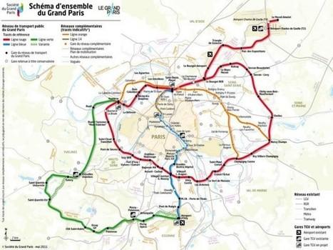 Que faire des 43 millions de tonnes de déblais du Grand Paris Express?   Génie civil   Scoop.it