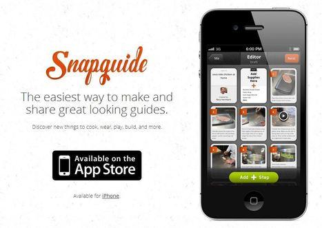 Snapguide: een stap-voor-stap online handleiding maken met afbeeldingen, foto's en tekst | ICT in de lerarenopleiding | Scoop.it