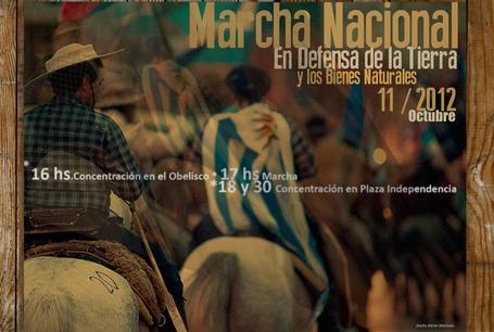 Uruguay /Montevideo/ Marcha Nacional contra la megaminería y el modelo extractivista. En Defensa de la Tierra, el Agua y los Bienes Naturales / 11 de Octubre 2012 | MOVUS | Scoop.it