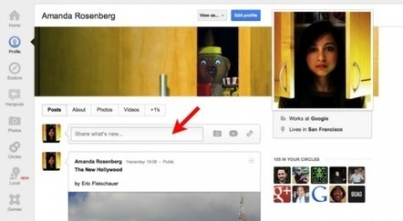 Google+ Gives Your Profile A Tweak | Tracking Transmedia | Scoop.it