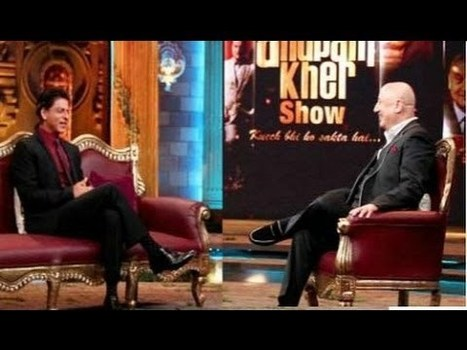 The Anupam Kher Show | Shahrukh Khan Full Episode HD | Tollywood Latest News Updates-Gossips-Movie Releases-News Updates | Scoop.it