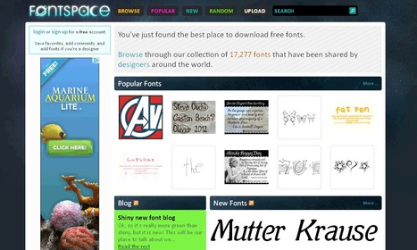Free fonts tagged Wedding | 23 Cool New Features in Adobe Photoshop CS6 | Scoop.it