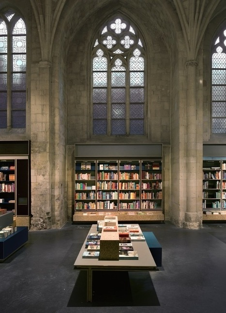 Public Library. 13th Century Church Converted to Modern Day Library in Holland | Inthralld | Library inspirations | Scoop.it