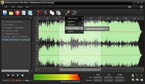 AV Audio Editor, completo editor de audio gratuito para Windows | Recursos interessants | Scoop.it