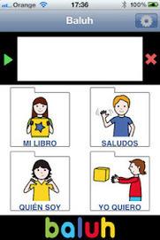 2.- Baluh, una aplicación para Iphone/Ipad que ayuda a comunicarse con pictogramas | ADI! | Scoop.it