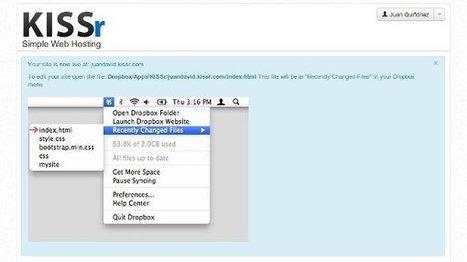 Otras 10 formas de usar Dropbox para algo más que guardar archivos | WEBOLUTION! | Scoop.it