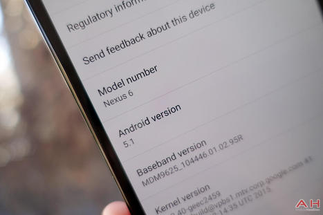 T-Mobile's Google Nexus 6 Android 5.1.1 lollipop update is Rolling-out | YouMobile | Scoop.it