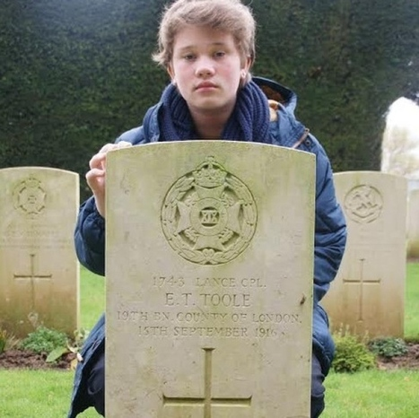 Holloway pupil makes emotional discovery on study trip to Somme cemetery | World War 1 | Scoop.it