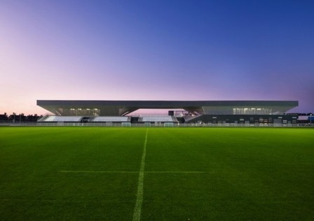 [Grande Synthe, France] Stadium du Littoral / OLGGA Architects | The Architecture of the City | Scoop.it