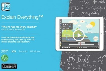 Create Killer Presentations with Explain Everything | Edudemic | Better teaching, more learning | Scoop.it