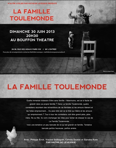 La Famille Toutlemonde | « N'autre Atelier » cours de théâtre de Mathilde Levesque | Scoop.it