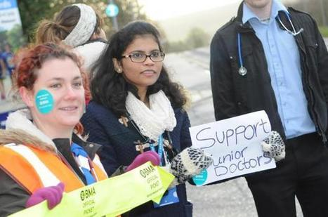 Junior doctors describe 'enormous sadness' during strike at Salisbury District Hospital | Salisbury District Hospital News | Scoop.it
