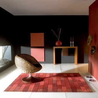 Alfombra moderna lana Bricks - Compra online - OcioHogar.com | Muebles de diseño moderno | Scoop.it
