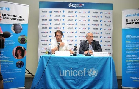 Jean Van de Velde, nouvel Ambassadeur de l'UNICEF France   Nouvelles du golf   Scoop.it