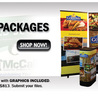 Home of the Largest Selection of Table Top Displays for Trade Shows