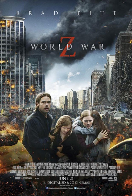 How did this World War Z poster get released? | Posters | Creative Bloq | Design Inspiration | Scoop.it